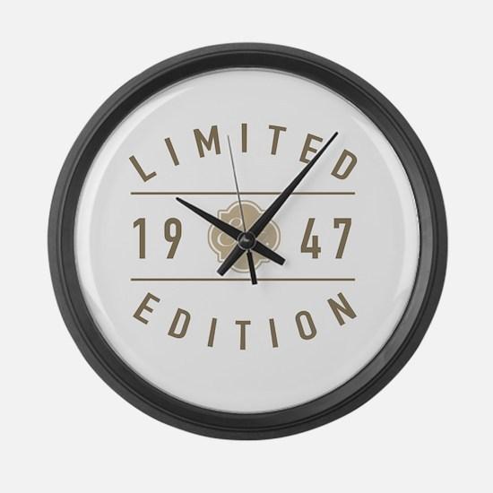70 camaro Large Wall Clock