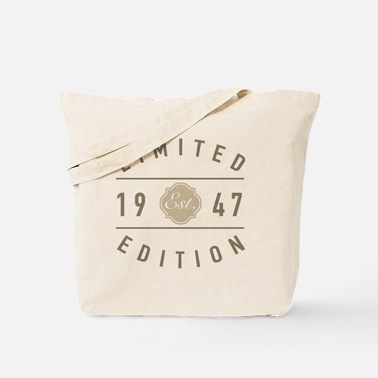 70 Tote Bag