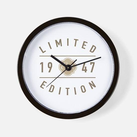 Cool 70th birthday Wall Clock