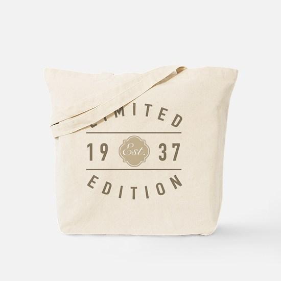 Unique Men 80th birthday Tote Bag