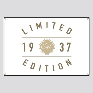1937 Limited Edition Banner