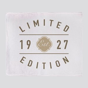 1927 Limited Edition Throw Blanket