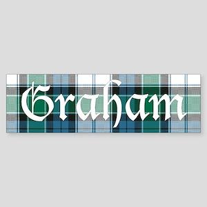 Tartan - Graham dress Sticker (Bumper)