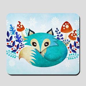 Winter Fox Mousepad