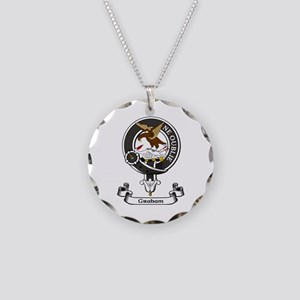 Badge - Graham Necklace Circle Charm