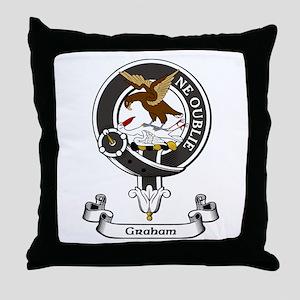 Badge - Graham Throw Pillow
