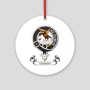 Badge - Graham Ornament (Round)