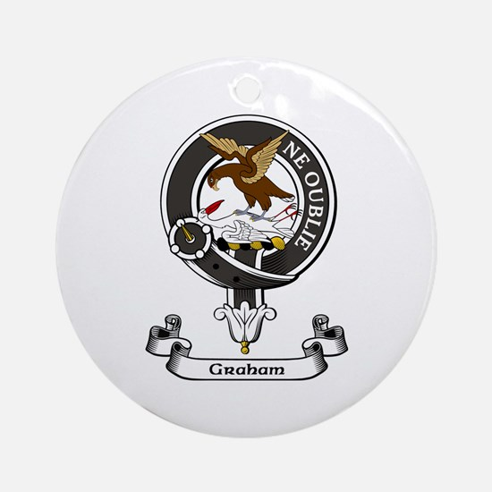 Badge - Graham Ornament (Round)