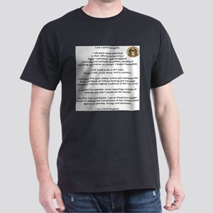 Drill Sergeants Creed / Patch Ash Grey T-Shirt
