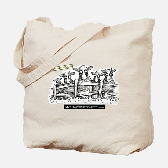 Myths & Monsters Zombie Cow Tote Bag