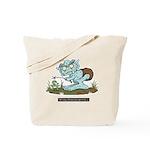 Myths & Monsters Tree Hole Troll Tote Bag