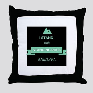 Standing With Standing Rock Throw Pillow