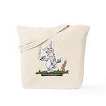 Myths & Monsters Bunny Man Tote Bag