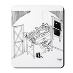 Barbed Wire Cartoon 5103 Mousepad