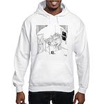 Barbed Wire Cartoon 5103 Hooded Sweatshirt