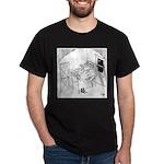 Barbed Wire Cartoon 5103 Dark T-Shirt