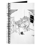 Barbed Wire Cartoon 5103 Journal