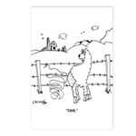 Sheep Cartoon 7802 Postcards (Package of 8)