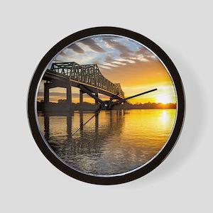 Clinton Fulton Bridge Wall Clock