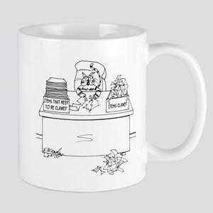 Cat Cartoon 6893 Mug