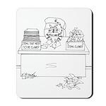 Cat Cartoon 6893 Mousepad