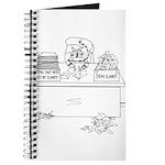 Cat Cartoon 6893 Journal