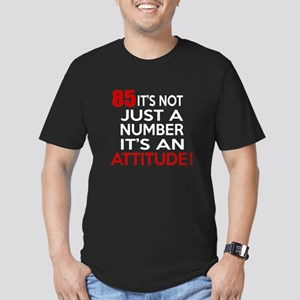 85 It Is Just A Number Men's Fitted T-Shirt (dark)