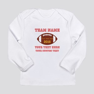 Football Personalized Long Sleeve T-Shirt