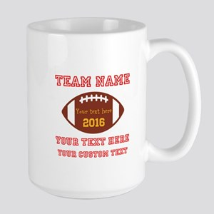 Football Personalized Mugs