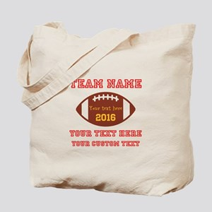 Football Personalized Tote Bag