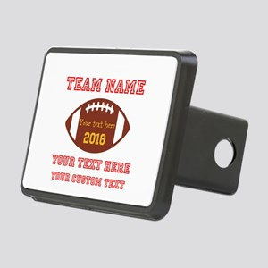 Football Personalized Hitch Cover