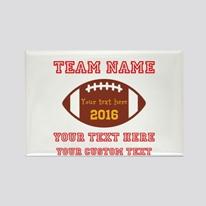 Football Personalized Magnets