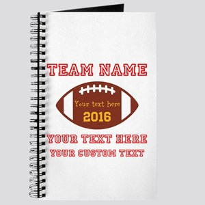 Football Personalized Journal