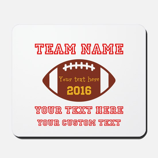 Football Personalized Mousepad