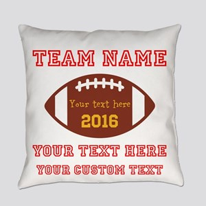 Football Personalized Everyday Pillow