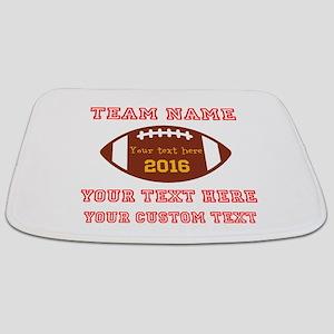 Football Personalized Bathmat