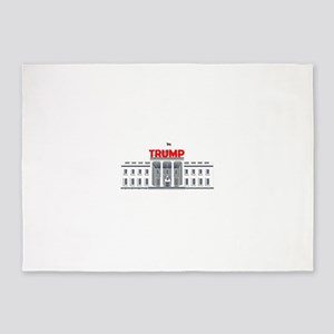 Trump White House 5'x7'Area Rug
