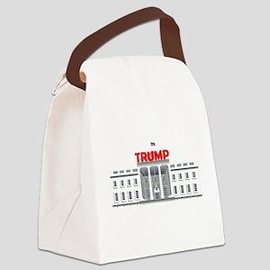 Trump White House Canvas Lunch Bag