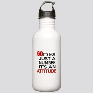 60 It Is Just A Number Stainless Water Bottle 1.0L