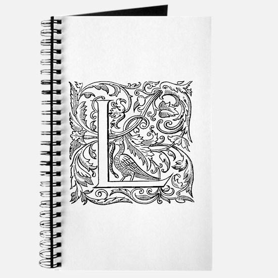 Vintage Letter L Journal
