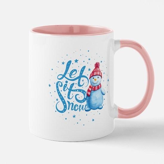Let It Snowman Mug