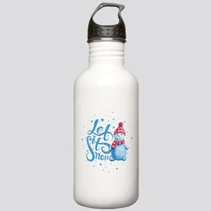 Let It Snowman Stainless Water Bottle 1.0L