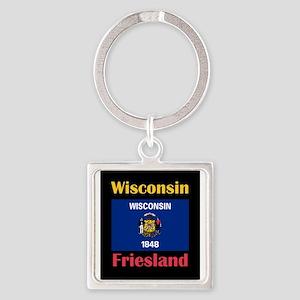 Friesland Wisconsin Keychains