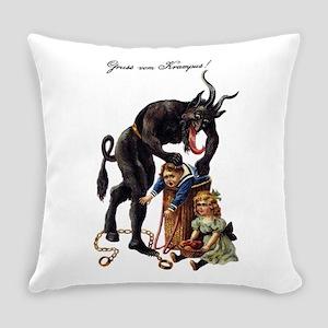 Krampus Everyday Pillow