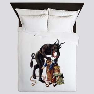 Krampus Queen Duvet