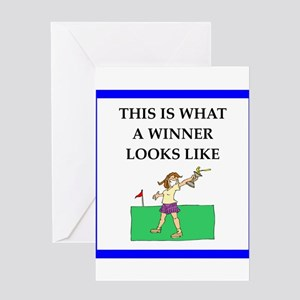 Funny golf greeting cards cafepress golf joke greeting cards m4hsunfo Image collections