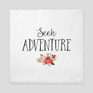 Seek Adventure Queen Duvet