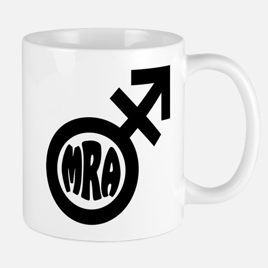 Trans MRA logo Mugs