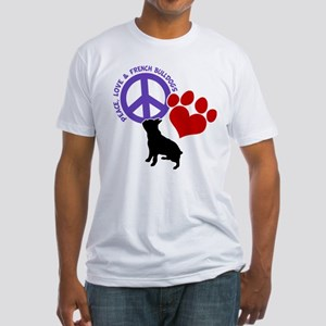 P,L, FRENCHIES Fitted T-Shirt