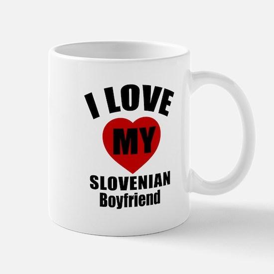 I Love My Slovenia Boyfriend Mug